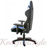 Кресло ExtremeRace 3 black/blue, фото 4
