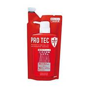 Мужское жидкое мыло для тела дезодорирующие Pro Tec с ментолом / LION / сменная упаковка / 330ml