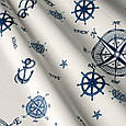 Ткань для штор в морском стиле, фото 2