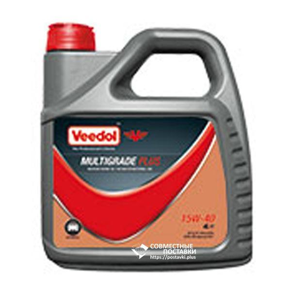 Масло моторное VEEDOL MULTIGRADE PLUS 15W-40 4 литра минеральное