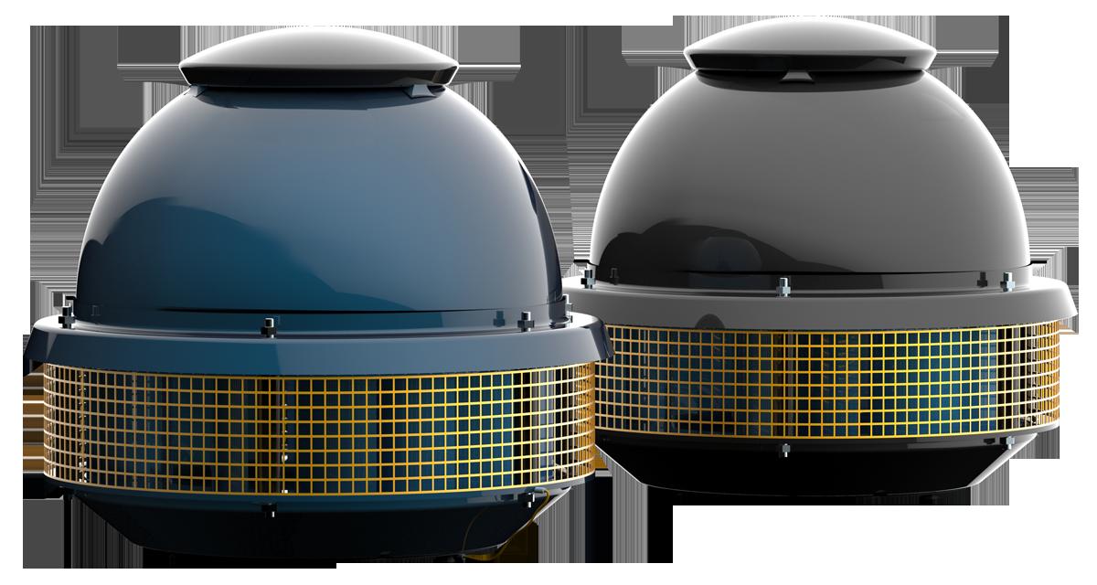 Крышный промышленный вентилятор DOSPEL Tornado II