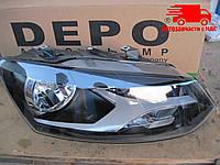 Фара правая VW POLO с 2009 года - (пр-во DEPO) 441-11D6RMLDEM2 Цена с НДС