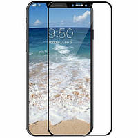 Защитное стекло TOTO 3D Full Cover Tempered Glass для iPhone X Black (Glass09)