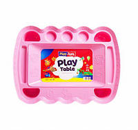 Игровой столик для песка и пластилина (розовый) 0164