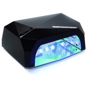 Лампа для сушки ногтей LED+CCFL Diamond 36W (Черная)