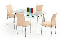 Стол обеденный стеклянный ALBERT Halmar
