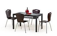 Стол обеденный стеклянный ABRAHAM Halmar