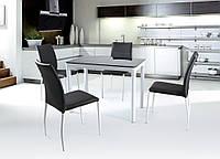 Стол обеденный стеклянный ARGUS черный Halmar