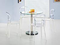 Стол обеденный стеклянный CYRYL Halmar