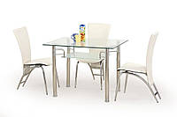 Стол обеденный стеклянный ERWIN Halmar