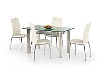 Стол обеденный стеклянный LENART Halmar