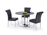 Стол обеденный стеклянный MODEST черный Halmar