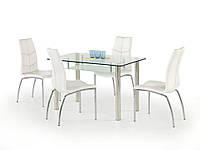 Стол обеденный стеклянный OLIVIER Halmar
