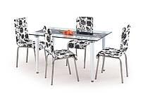 Стол обеденный стеклянный SALWADOR Halmar