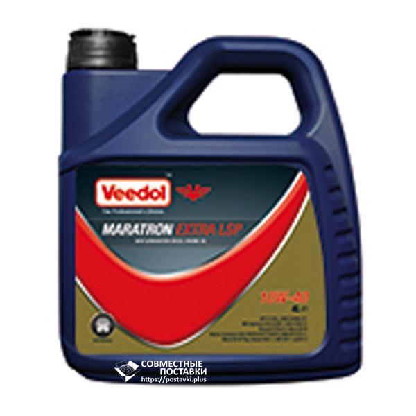 Масло моторное VEEDOL MARATRON EXTRA LSP 10W-40 4 литра полусинтетика  (с сажевым фильтром)