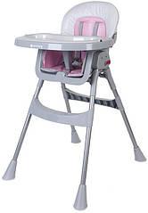 Стільчик для годування SUN BABY Comfort Basic (B03.002.11) Рожевий (3072018057)