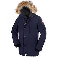 Мужская зимняя парка Canada Goose Chateau Parka зимняя куртка Канада Гус синяя, размер М