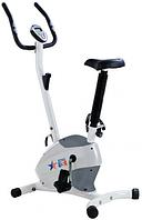 USA Style Велотренажер механический бело-серый SS-370