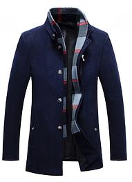 Мужское пальто. Модель 18143