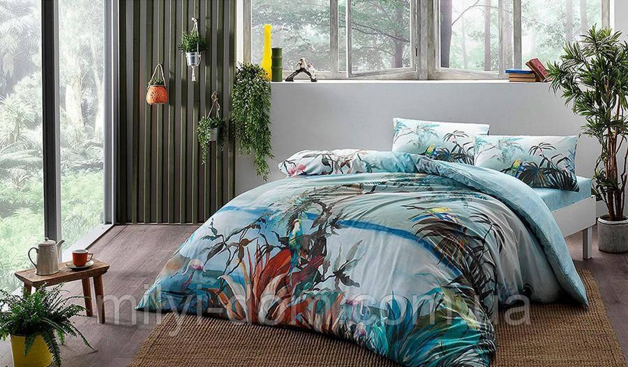 Набор постельного белья с - заряженными ионами TAC Ion Therapy Natural Бамбук (двуспальный евро)