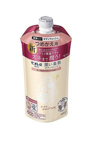 """Увлажняющий гель для душа с аминокислотами KAO """"Biore U"""", аромат розы и белого букета, фото 2"""