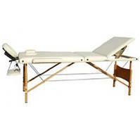HouseFit Массажный стол 3-х секционный деревянная рама HY-30110HouseFit (25062)