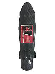 Скейт Profi Action Penny Board MS 0848-2 Black (20181116V-520)