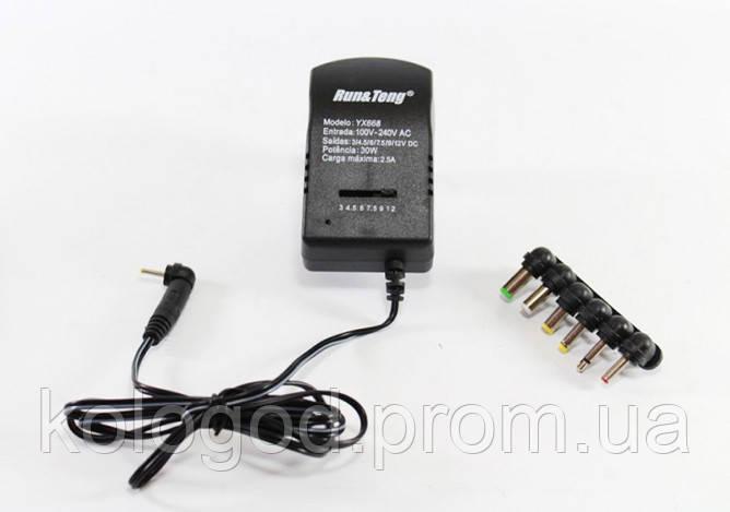 Зарядное Устройство 12 V 2,5 А 7 в 1 668 Адаптер