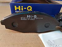 Колодки тормозные передние   HI-Q  Деу Ланос (14диски)