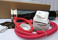 Пленочный теплый пол 2,0 м² Korea Heatihg (0.5х4 м) Комплект с терморегулятором, фото 1