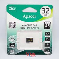 Карта памяти microSD Apacer 32 GB class 10 UHS-I U1 (AP32GMCSH10U1-RA)