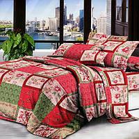 Двуспальный комплект постельного белья из бязи Эконом