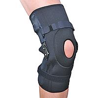 Бандаж на коленный сустав разъемный с полицентрическими шарнирами ЕS-798, S
