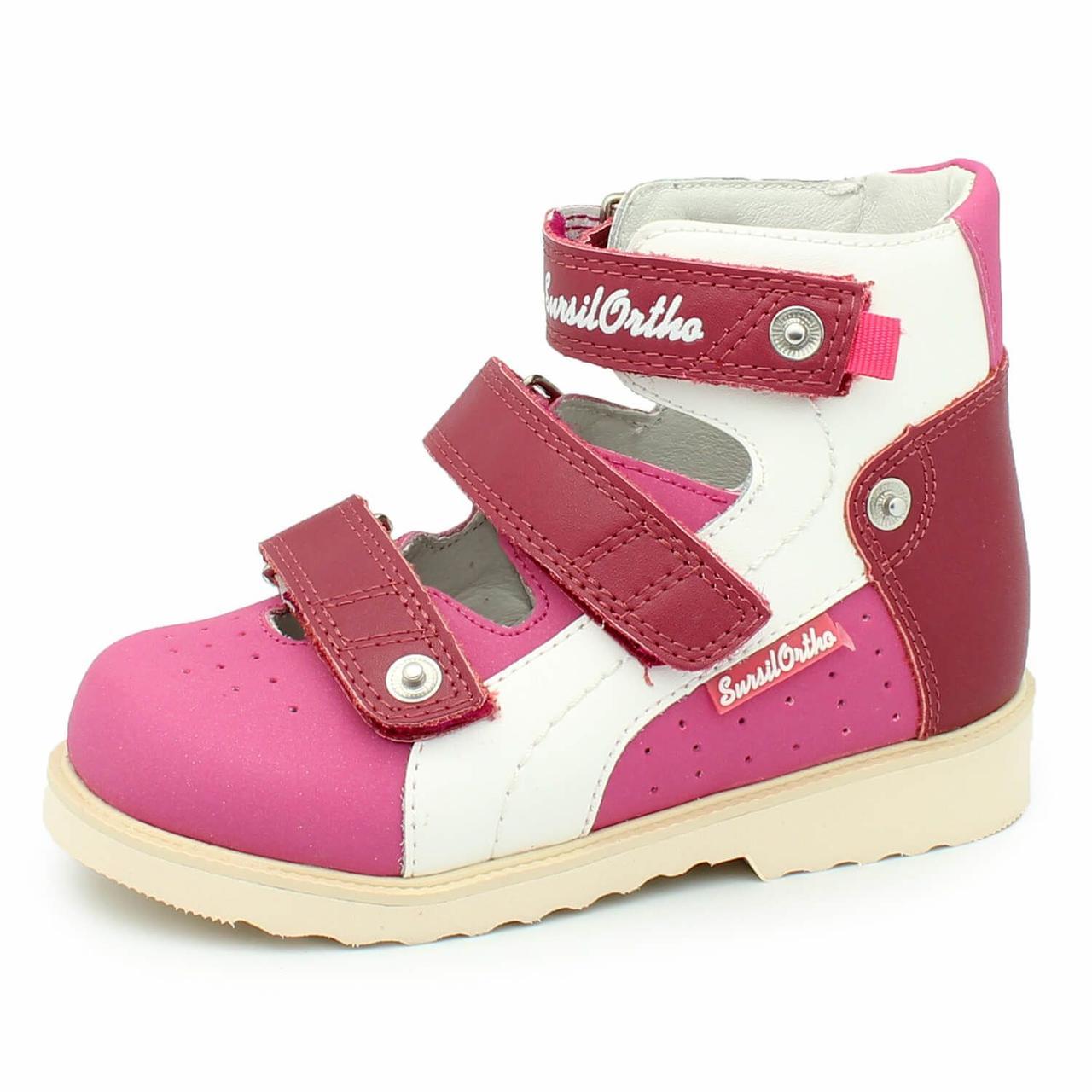 Туфли ортопедические со съёмной стелькой для девочки Сурсил-Орто 14-138, 20