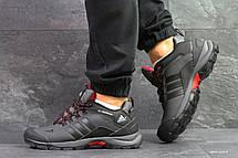 Чоловічі осінні кросівки Adidas Climaproof,термо,сірі, фото 3