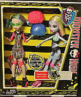 Куклы Monster High Skultimate Roller Maze Abbey Bominable & Ghoulia Yelps Эбби Боминейбл и Гулия Йелпс