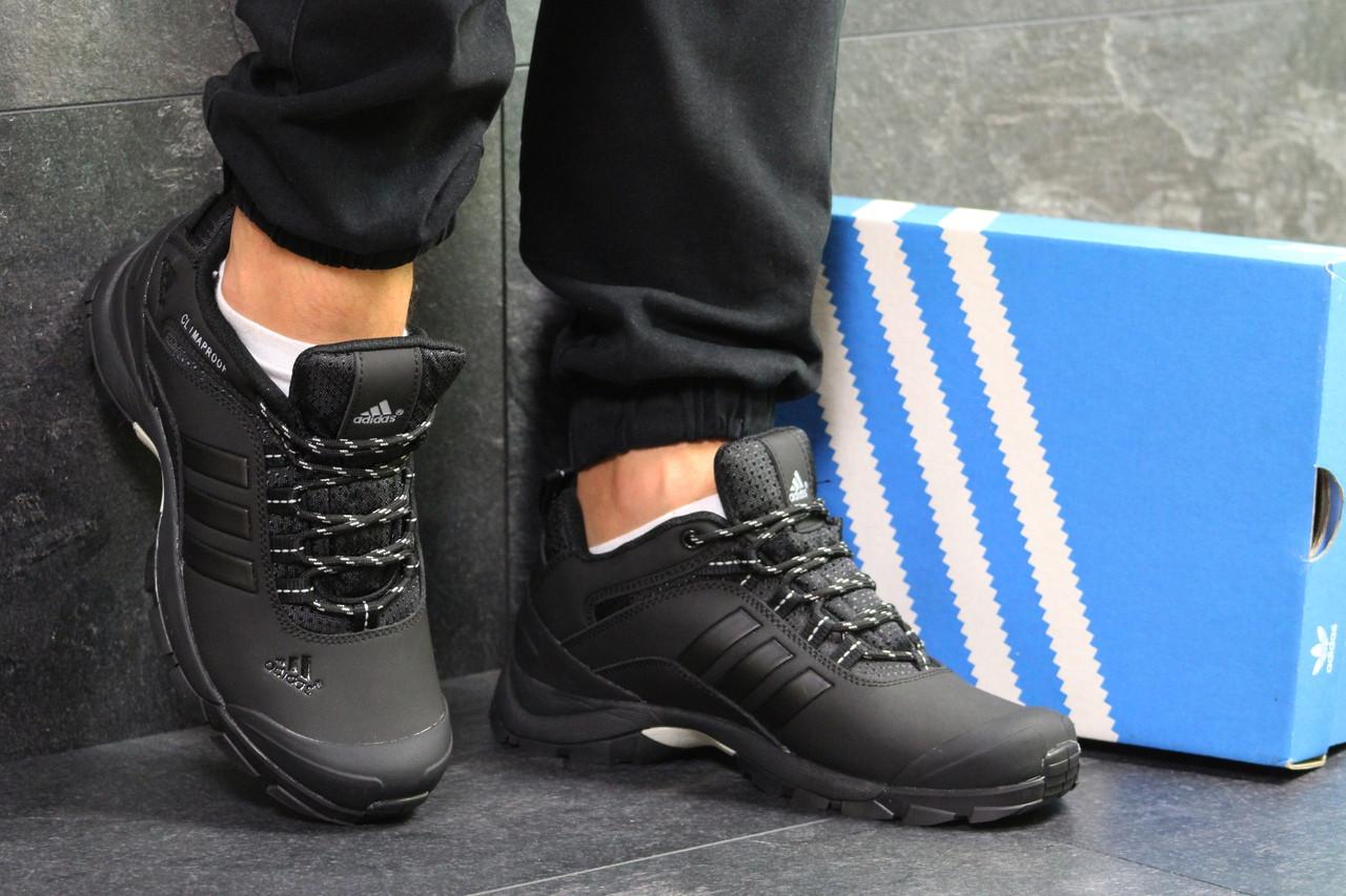 b9d6ea7fc9e8 Мужские осенние кроссовки Adidas Climaproof,термо,черные 42р -  Интернет-магазин Дом Обуви