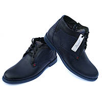 Польская зимняя обувь  мужские кожаные ботинки 37c18a37f6e8c