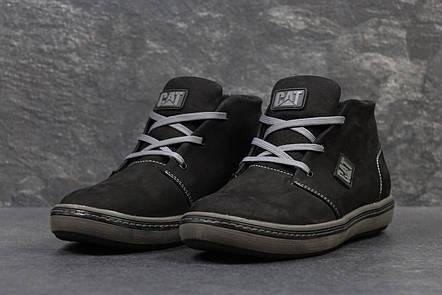 d234d7ff Мужские высокие,зимние туфли Caterpillar,черные ,на меху: продажа ...