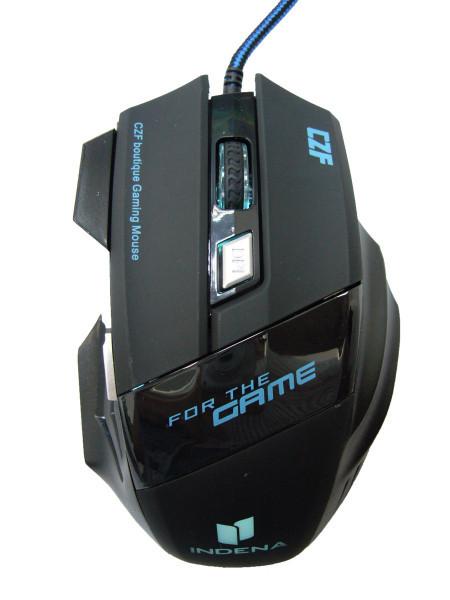 Мышка проводная USB компьютерная ИГРОВАЯ