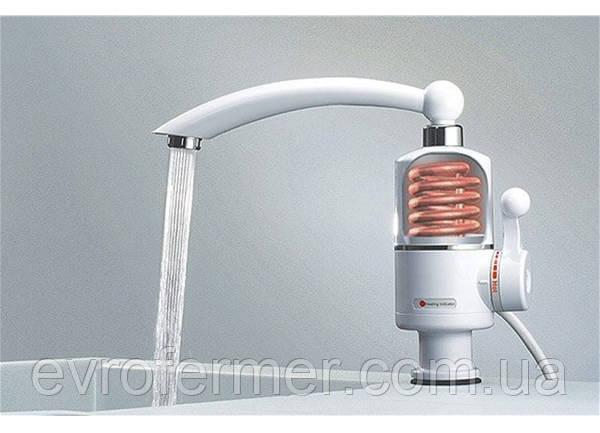 Проточный кран-водонагреватель типа Delimano 3000W