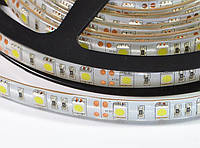 LED лента SMD5050 60шт/м, 14.4W/m, IP65