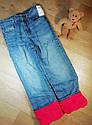 Утепленные стильные джинсы на флисе (Размер 8Т) OshKosh (США), фото 4