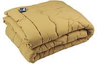 """Одеяло шерстяное зимнее 205х140 см бежевое чехол микрофайбер ТМ """"Руно"""""""