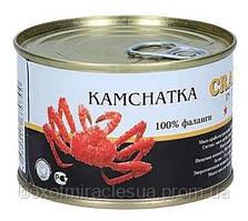 Мясо краба камчатского 250 гр Кrab - Краб Россия жесть банка