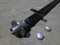 Балка (ось) для прицепа усиленная со ступицами, фото 1