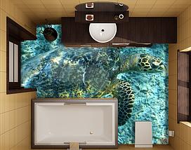 Изображения для наливных полов, 2х2м (любой размер), фото 3