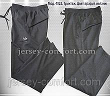 Брюки мужские спортивные. Мужские спортивные штаны трикотажные. Разные цвета. Мод. 4022.