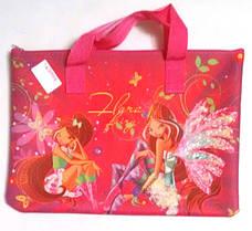 Сумка для їжі або позакласних занять Smile для девчат 211001-11 Різні Winx Flora Pink