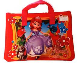 Сумка для їжі або позакласних занять Smile для девчат 211001-11 Різні Princess Sofia
